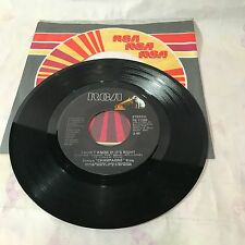 """EVELYN CHAMPAGNE KING~""""I DON'T KNOW IF IT'S RIGHT/WE'RE GOING TO A PARTY"""" RCA 45"""