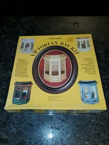 "New Sealed Vintage Victorian Bay Kit, Carlson's Miniature Dollhouse Scale 1"" =1'"