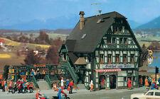 Vollmer 43736 H0 Gasthaus mit Metzgerei und Inneneinrichtung NEU  OVP -