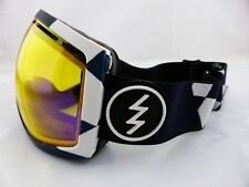 Electric Eg2 Snow Goggles V. Co-lab - Yellow/blue Chrome Lens in Hard Case