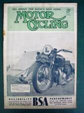 MOTOR CYCLING MAGAZINE 11 AUG 1937 - 350 Vee Twin O.K.-Supreme, Next Year's OECs