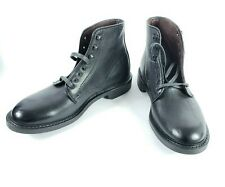 Allen Edmonds Higgins Mill Men's Black Leather Boot Sz US8