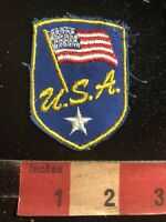 Red White /& Blue 94MI NOS Farm /& Agriculture AMERICANA SEEDS Advertising Patch