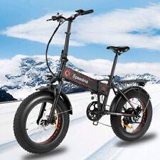 500W 20'' Folding Electric Bike Fat-Tire Mountain Bicycle SHIMANO 12.5Ah EBike!!