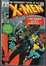 X-MEN UNCANNY #70 MARVEL 1971 DOUBLE SIZE REPRINT #17 & 18 MAGNETO TALE 52pg VF