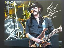 Genuine LEMMY 10x8 signed photo Superb ready for framing. EXCELLENT