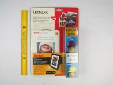 Lexmark Black 12A1970 Color 12A1980 Combo Digital Photo Printing Collection