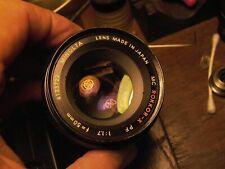 Minolta Rokkor-X 50mm F:1.7 4133722  Sony NEX, Canon Nikon, Pentax m4/3