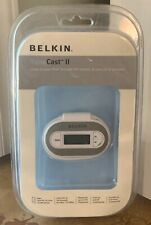Belkin TuneCast II FM Transmitter for iPOD Music Players F8V3080-APL New