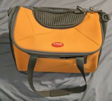 Argo Pet Avion Airline Approved Carrier 17 inch Yellow Orange Zip Up