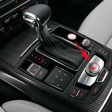 2 x S Line Car Silver Alloy Badge Multimedia Audio Control Sticker All Model