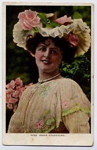 Miss Marie Studholme, actress, vintage portrait  Postcard - 1905