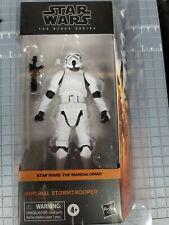 Star Wars Black Series Mandalorian Storm Trooper distorted helmet new