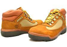 New Timberland Men's Waterproof Field Boot Brown Nubuck/Tan Winter 10028M SZ 8 M