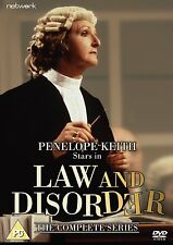 Law And Disorder: The Complete Series - DVD NEW & SEALED - Penelope Keith