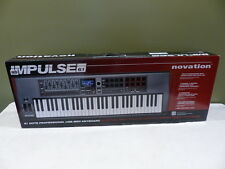 NOVATION IMPULSE 61 USB MIDI CONTROLLER KEYBOARD 61 KEYS NOVIMP61