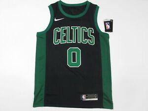 NWT Jayson Tatum #0 Boston Celtics Swingman Jersey Black