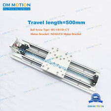500mm Effective stroke SFU1610 Cross Linear Stages Module Precision workstations