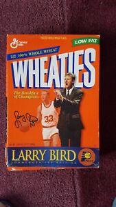 Large Wheaties Box Larry Bird