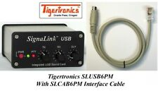 Tigertronics SLUSB6PM Signalink USB For 6-pin Mini DIN Data Port