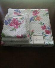 Peri Home 3 Piece Bath Towel Set Floral Design