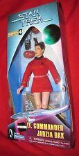 "Star Trek DS9 9"" LT. COMMANDER JADZIA DAX Warp Factor 4 Series.1998 by Playmates"
