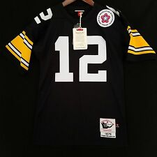 0babae568a0 ... 100% Authentic Terry Bradshaw Mitchell Ness Steelers NFL Jersey Mens 36  S Small ...