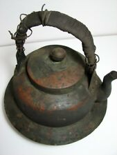 Old Copper Tea Kettle Pot / over 100 years to Japan