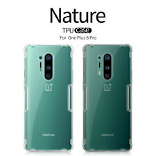 Genuine NILLKIN Ultra-Thin Nature Transparent TPU Cover Case For OnePlus 8/8 Pro