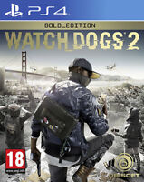 Watch Dogs 2 Gold Edition PS4 PLAYSTATION 4 Ubisoft
