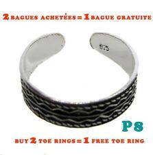 Bague de pied orteil argent 925 / Toe ring sterling silver