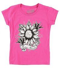 Metal Mulisha Girls Sunflower Tee Size S 5/6