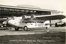 rp01946 - Imperial Airways Plane at Croydon - photo 6x4