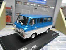FORD Econoline Van Bus 1964 blau weiss IXO White Box 1:43