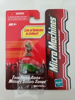 MICRO MACHINES TASK FORCE ALPHA MILITARY SUPPLY SQUAD 2003 HASBRO NEW ON CARD