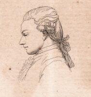 Portrait XIXe Fariau de Saint-Ange Blois Loir et Cher Poésie Poète 1821