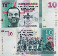 SWAZILAND - 10 emalangeni 2017 Hybrid FDS UNC