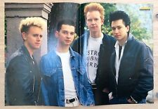 BRAVO POSTER Depeche Mode - 80er Jahre !!!
