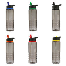 Drink Water Bottle Sports Flip Straw Tritan Running Gym Yoga Cycling Bpa Free