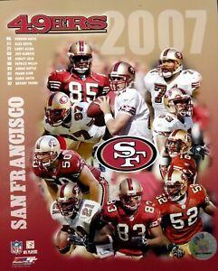 2007 SAN FRANCISCO 49ERS Team Composite 8x10 Photo