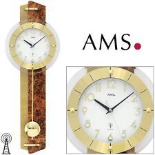 AMS 5272 Reloj de pared con péndulo Radio para salón