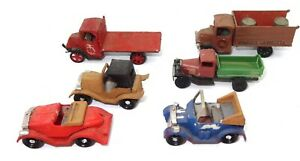 1:87 GROUP OF 6 HAND PAINTED VEHICLES - CHEAP