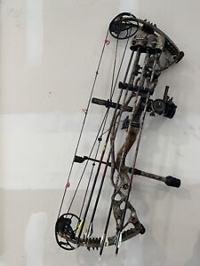 Hoyt Carbon Defiant 34 Compound Bow - Ready To Shoot