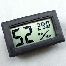 Mini Digital LCD Temperature Luftfeuchtigkeit Humidity Hygrometer Thermometer