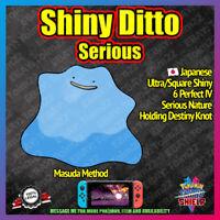 Shiny Japanese DITTO SERIOUS | Perfect 6IV | Masuda | Pokemon Sword Shield