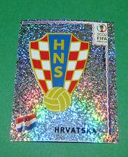 N°476 BADGE HRVATSKA CROATIE PANINI FOOTBALL JAPAN KOREA 2002 COUPE MONDE FIFA