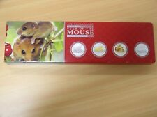 "Australia, 4 x dólar 1 2008, ""lunar II"", año de ratón, Type-Set"