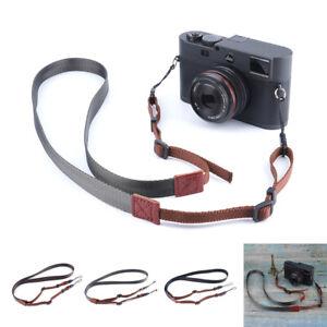 Quick Release Vintage Camera Neck Shoulder Sling Nylon Strap For DSLR/SLR Canon