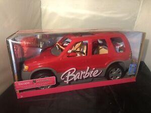 Barbie Mattel 2002 Ford Hybrid Red SUV Car Misb Rare