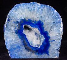 13Lbs Agate Geode Crystal Quartz Polished Specimen - Brazil